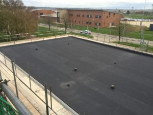 Commercial flat roof installation in Swindon, Wiltshire