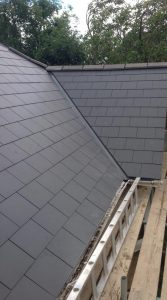 New slate roof installation in Swindon, Wiltshire